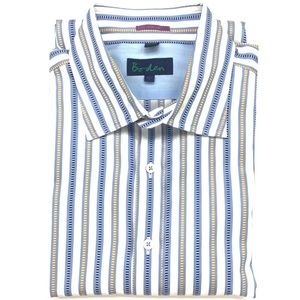 Boden Striped Button Down Dress Shirt